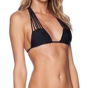 Stone Fox Swim Natasha top in Onyx NWT size M